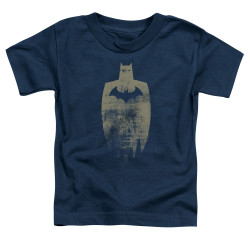 Image for Batman Toddler T-Shirt - Gold Silhouette