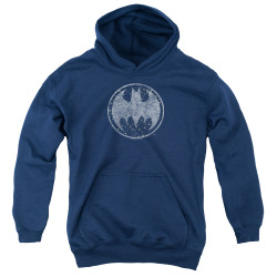 Image for Batman Youth Hoodie - Starry Night Shield