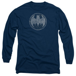 Image for Batman Long Sleeve T-Shirt - Starry Night Shield