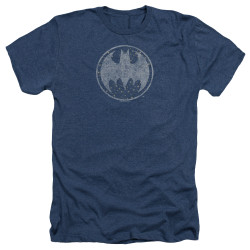 Image for Batman Heather T-Shirt - Starry Night Shield