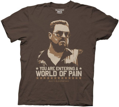 Image for The Big Lebowski T-Shirt - World of Pain