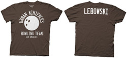 Image for The Big Lebowski T-Shirt - Urban Achievers Bowling