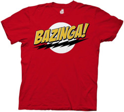 Image for Big Bang Theory T-Shirt - Plain Bazinga