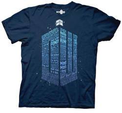 Image for Doctor Who T-Shirt - Logo of Words