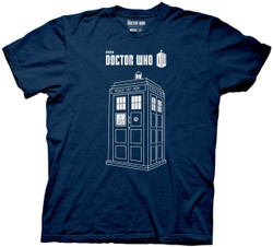 Image for Doctor Who T-Shirt - Series 7 Linear Tardis