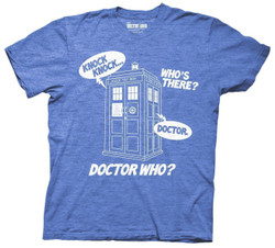 Image for Doctor Who T-Shirt - Knock Knock