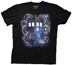 Image for Doctor Who T-Shirt - Tardis Space Tech