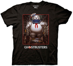 Image for Ghostbusters T-Shirt - Stay Puff Poster