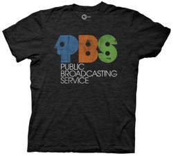 Image for PBS T-Shirt - Vintage Logo Distressed