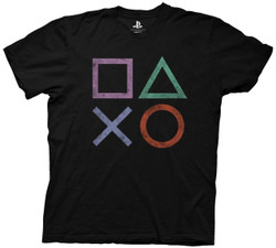 Image for Playstation T-Shirt - Vintage Icons
