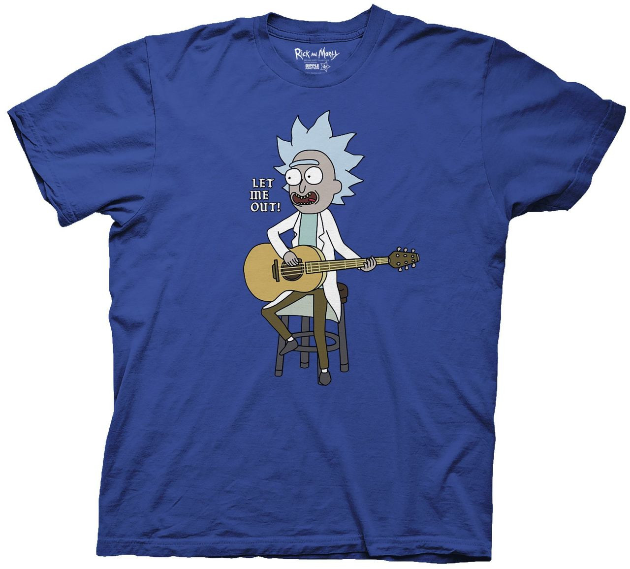 1c9ec498 Rick and Morty T-Shirt - Let Me Out Tiny Rick. Loading zoom. Hover over  image to zoom