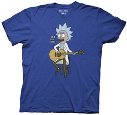 Image for Rick and Morty T-Shirt - Let Me Out Tiny Rick