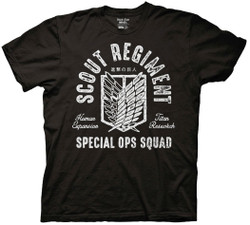 Image for Attack on Titan T-Shirt - Scout Regiment Special Ops