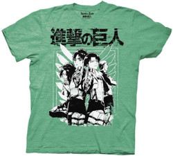 Image for Attack on Titan T-Shirt - Scouts