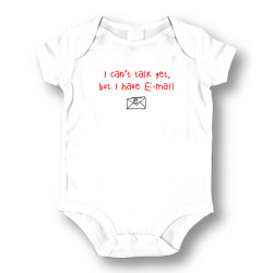 Image for I Can't Talk Yet, But I Have Email Baby Creeper