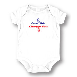 Image for Feed This Change This Baby Creeper