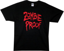 Image Closeup for Zombie T-Shirt - Zombie Proof