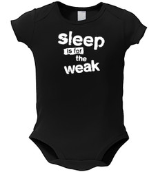 Image for Sleep is for the Weak Baby Creeper