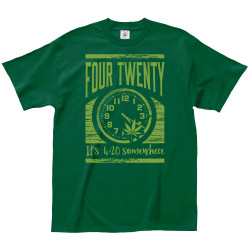 Image for It's 4-20 Somewhere T-Shirt