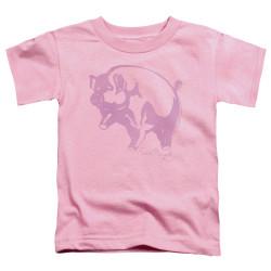 Image for Pink Floyd Pink Animal Toddler T-Shirt