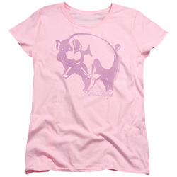 Image for Pink Floyd Womans T-Shirt - Pink Animal