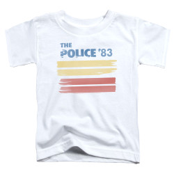 Image for The Police '83 Toddler T-Shirt