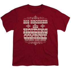 Image for Big Brother and the Holding Company Youth T-Shirt - Fat Bottom Text