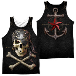 Image for Anne Stokes Sublimated Tank Top - Pirate Skulls