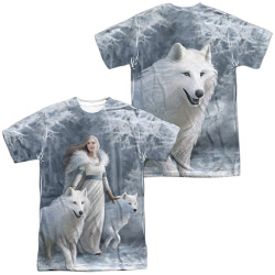 Image for Anne Stokes Sublimated T-Shirt - Winter Guardians 100% Polyester