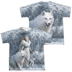Image for Anne Stokes Youth Sublimated T-Shirt - Winter Guardians