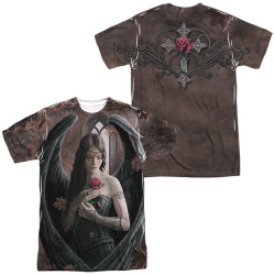 Image for Anne Stokes Sublimated T-Shirt - Angels Rose 100% Polyester