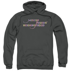 Image for Mr. Rogers Hoodie - Colorful Logo