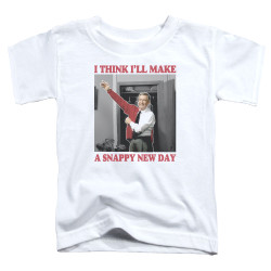 Image for Mr. Rogers Toddler T-Shirt - A Snappy New Day