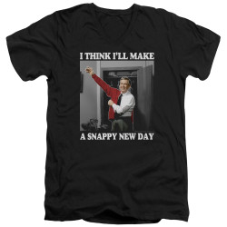 Image for Mr. Rogers T-Shirt - V Neck - Snappy New Day