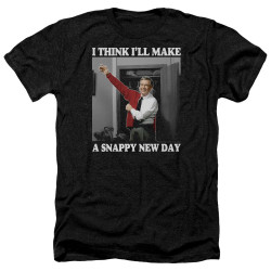 Image for Mr. Rogers Heather T-Shirt - Snappy New Day