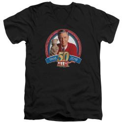 Image for Mr. Rogers T-Shirt - V Neck - 50th Anniversary Design