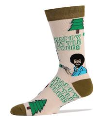 Image for Bob Ross Happy Little Trees Socks