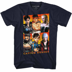 Image for Capcom Heroes Gallery T-Shirt