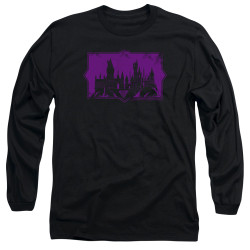 Image for Fantastic Beasts: the Crimes of Grindelwald Long Sleeve Shirt - Howarts Silhouette