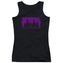 Image for Fantastic Beasts: the Crimes of Grindelwald Girls Tank Top - Howarts Silhouette