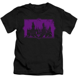Image for Fantastic Beasts: the Crimes of Grindelwald Howarts Silhouette Kid's T-Shirt