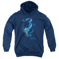 Image for Fantastic Beasts: the Crimes of Grindelwald Youth Hoodie - Newt Silhouette
