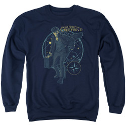Image for Fantastic Beasts: the Crimes of Grindelwald Crewneck - Suitcase