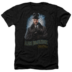 Image for Fantastic Beasts: the Crimes of Grindelwald Heather T-Shirt - Dumbledore