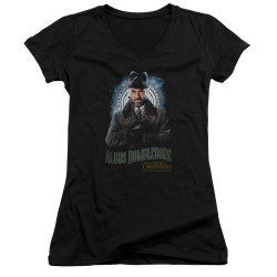 Image for Fantastic Beasts: the Crimes of Grindelwald Girls V Neck - Dumbledore