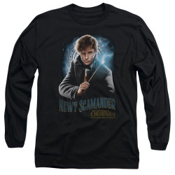 Image for Fantastic Beasts: the Crimes of Grindelwald Long Sleeve Shirt - Scamander Monogram