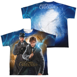 Image for Fantastic Beasts: the Crimes of Grindelwald Youth Sublimated T-Shirt - Team Up