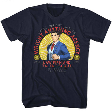 Image for Ace Attorney Wright Anything T-Shirt