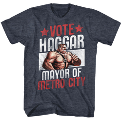 Image for Final Fight Vote Haggar T-Shirt