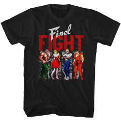 Image for Final Fight Panels T-Shirt